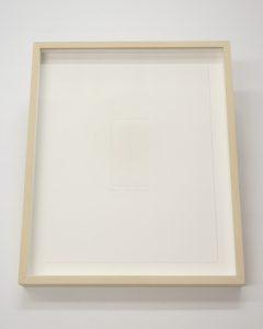 white-framed